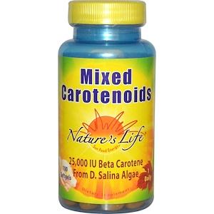 Натурес Лифе, Mixed Carotenoids, 100 Softgels отзывы