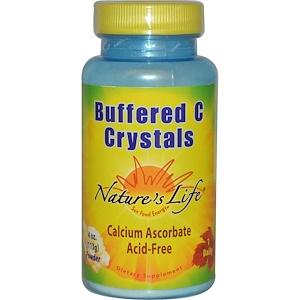 Натурес Лифе, Buffered C Crystals, Powder, 4 oz (113 g) отзывы