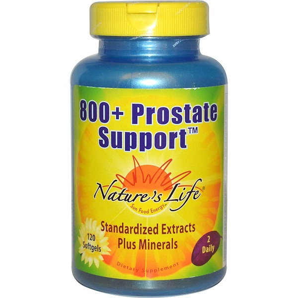 Nature's Life, 800+ Prostate Support, 120 Softgels (Discontinued Item)