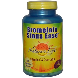Nature's Life, Bromelain Sinus Ease, 100 Veggie Caps
