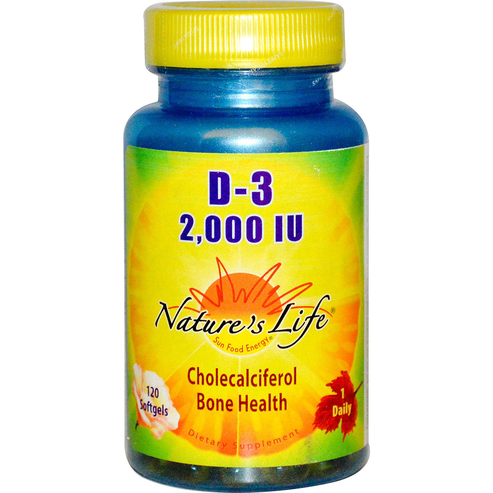 Nature S Life Vitamin D  Iu Reviews