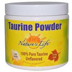 Nature's Life, Taurina en polvo, sin sabor, 335 g