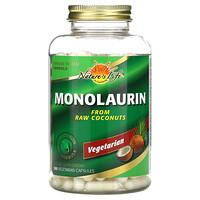 Nature's Life, Monolaurin, 180 Vegetarian Capsules
