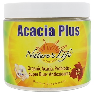 Nature's Life, Acacia Plus, Cinnamon Honey Lemon, 210 g