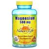 Nature's Life, Magnesium Plus Vitamin B-6, 500 mg, 180 Vegetarian Capsules