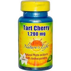 Nature's Life, Tart Cherry, 1,200 mg, 30 Tablets