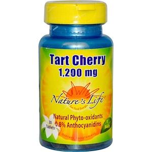 Натурес Лифе, Tart Cherry, 1,200 mg, 30 Tablets отзывы покупателей