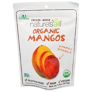Natierra Nature's All , Freeze-Dried Organic Mango, 1.5 oz (42.5 g)
