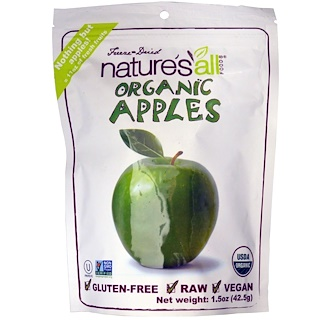 Natierra Nature's All , Organic Apples, 1.5 oz (42.5 g)