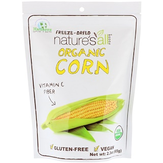 Natierra Nature's All , Organic Freeze-Dried, Corn, 2.3 oz (65 g)