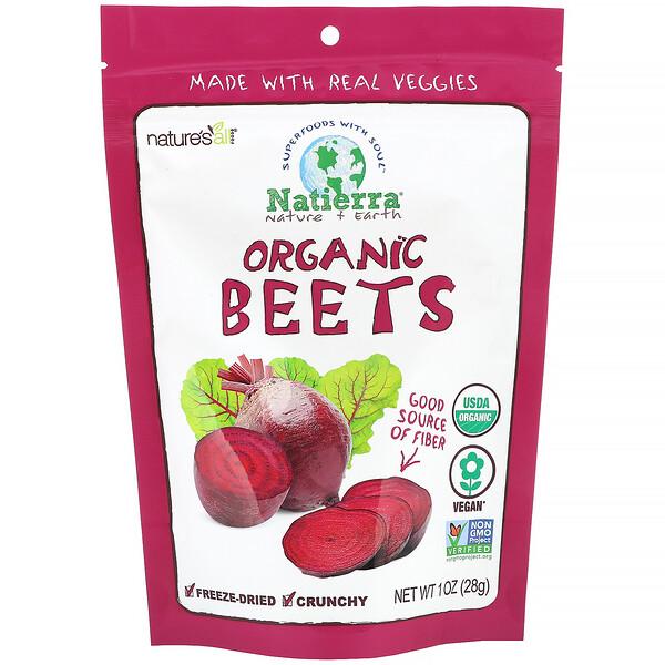Natierra, Organic Beets, 1 oz (28 g) (Discontinued Item)