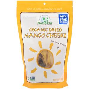 Натиерра Натурес Ол, Organic Dried, Mango Cheeks, 8 oz (227 g) отзывы