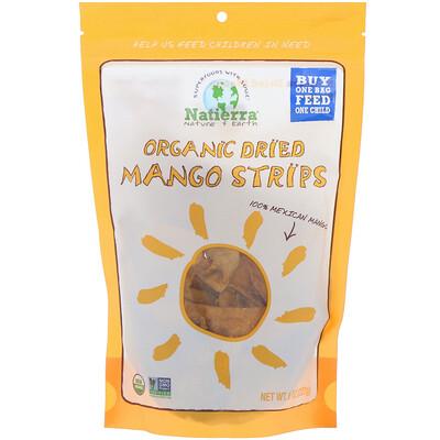 Купить Natierra Органическое сушеное манго (ломтики), 227 г (8 унций)