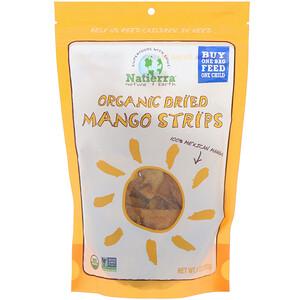 Натиерра Натурес Ол, Organic Dried, Mango Strips, 8 oz (227 g) отзывы