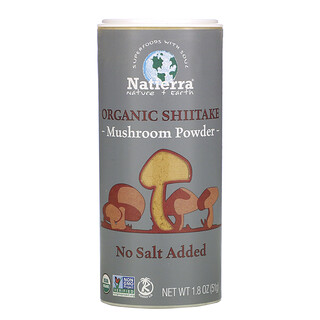 Natierra, 有機香菇粉,1.8 盎司(51 克)