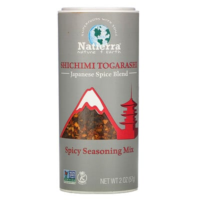 Купить Natierra Shichimi Togarashi Japanese Spice Blend, 2 oz (57 g)