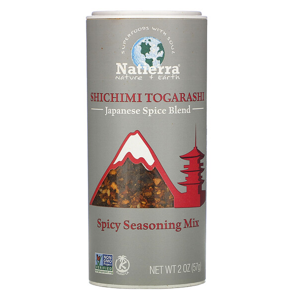 Natierra, Shichimi Togarashi Japanese Spice Blend, 2 oz (57 g)