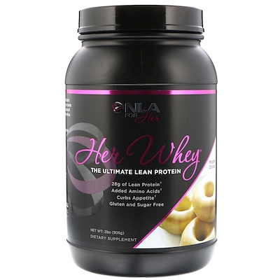 NLA for Her Her Whey, The Ultimate Lean Protein, Maple Donut, 2 lbs (905 g)