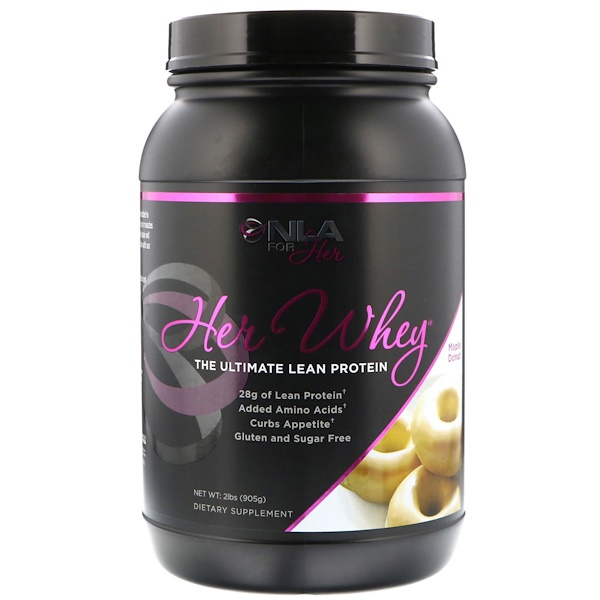 NLA for Her, Her Whey, The Ultimate Lean Protein, Maple Donut, 2 lbs (905 g)