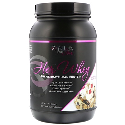 NLA for Her Her Whey, The Ultimate Lean Protein, Peanut Butter Banana Split, 2 lbs (905 g)
