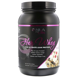 NLA for Her, Her Whey, The Ultimate Lean Protein, Peanut Butter Banana Split, 2 lbs (905 g)