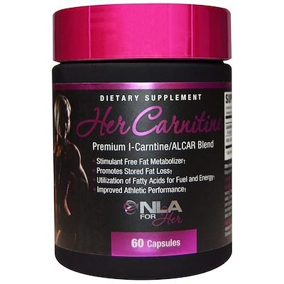 Карнитин для нее, премиум смесь L-карнитин/ALCAR, 60 капсул l карнитин sport technology nutrition l carnitine guarana 0 5 л