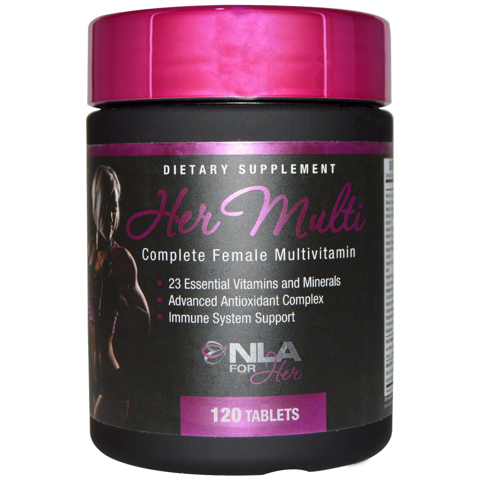 NLA for Her, Her Multi, полноценный мультивитаминный комплекс для женщин, 120 таблеток