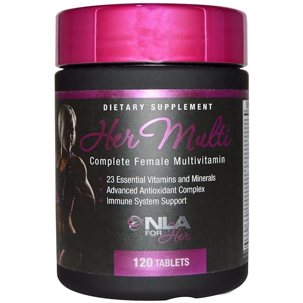 NLA for Her, Her Multi, Complete Female Multivitamin, 120 Tablets