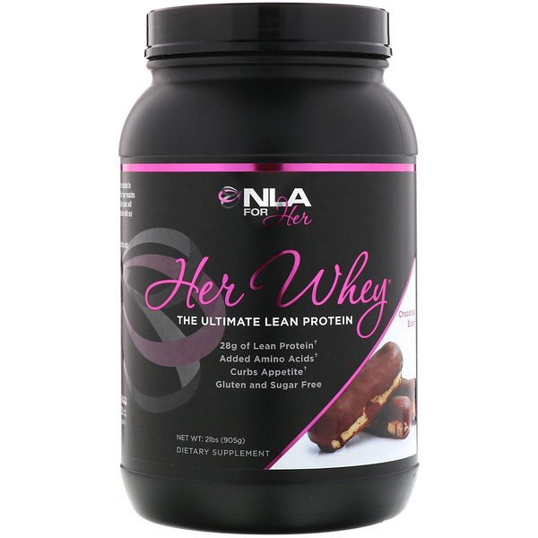 NLA for Her, Her Whey, The Ultimate Lean Protein, Chocolate Eclair, 2 lbs (905 g)
