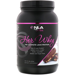 НЛА фо Хё, Her Whey, The Ultimate Lean Protein, Chocolate Eclair, 2 lbs (905 g) отзывы