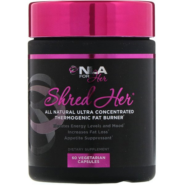 NLA for Her, Shred Her, 60 Vegetarian Capsules (Discontinued Item)