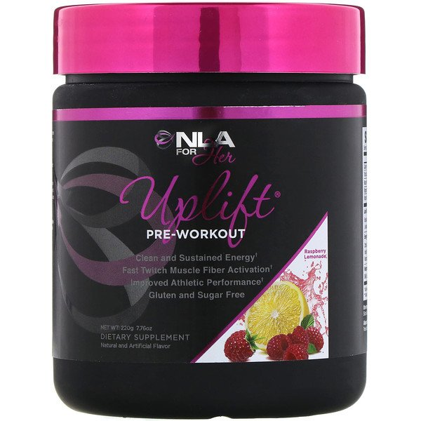 NLA for Her, Uplift, Pre Workout, Raspberry Lemonade, 7.76 oz (220 g) (Discontinued Item)