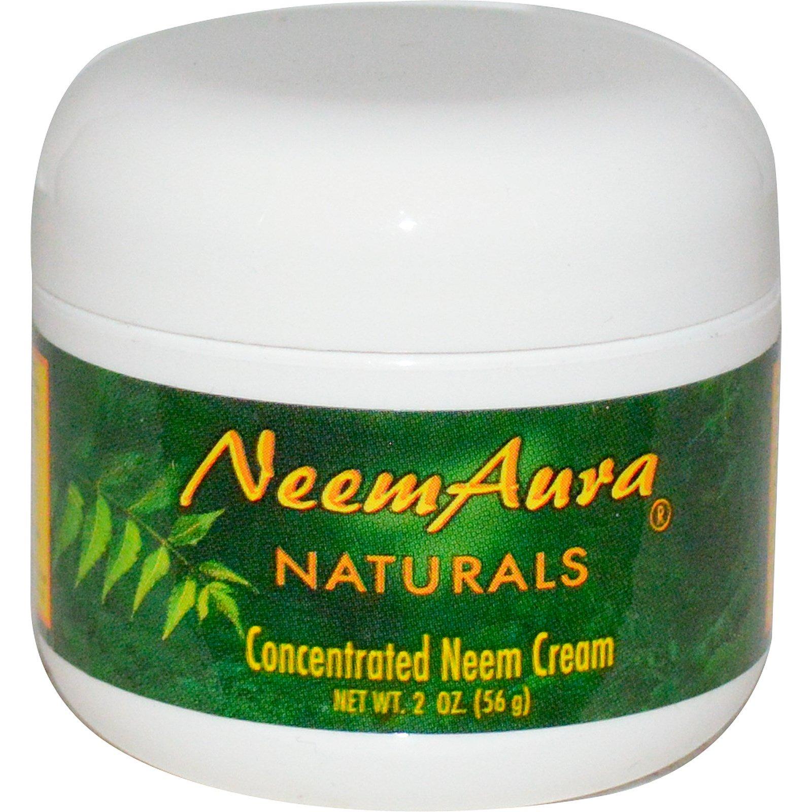 Neemaura Naturals Inc, Концентрированный крем с нимом, 2 унции (56 г)