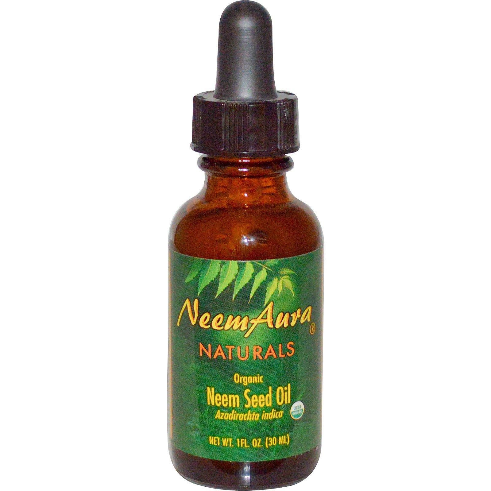 Neemaura Naturals Inc, Organic, Neem Seed Oil, 1 fl oz (30 ml) - iHerb.com