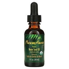 NeemAura, 印楝籽油,1液體盎司(30毫升)