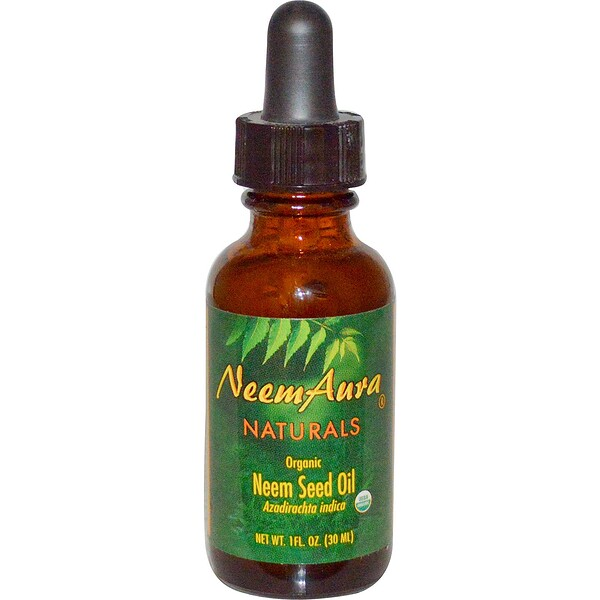 Organic, Neem Seed Oil, 1 fl oz (30 ml)
