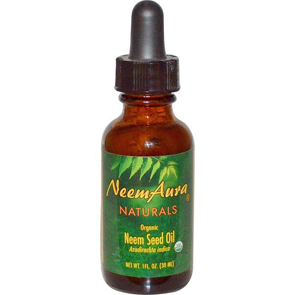 Neemaura Naturals Inc, Organic, Neem Seed Oil, 1 fl oz (30 ml)