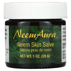 NeemAura, 印楝皮膚藥膏,1 盎司(28 克)