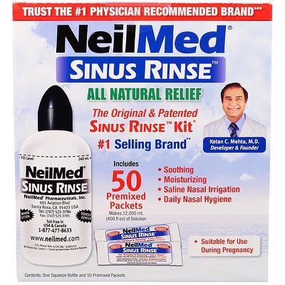 Купить Оригинальное и запатентованное средство для полоскания носа, 50 пакетиков, 1 комплект