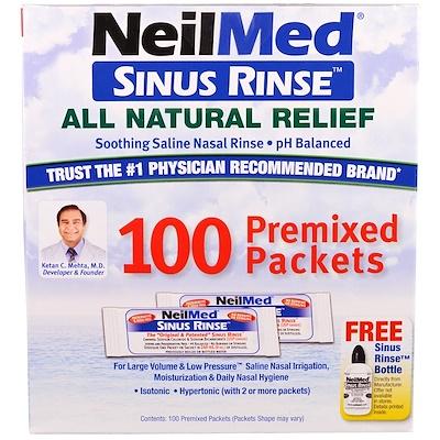 Купить Средство для полоскания носа, натуральное средство для облегчения, 100 пакетиков