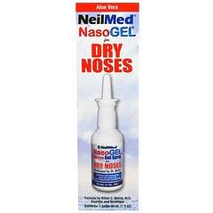 NeilMed, NasoGel, при сухости слизистой носа, 1 флакон, 1 жид. унция(30 мл)