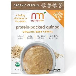 NurturMe, Organic Baby Cereal, Protein-Packed Quinoa, 3.7 oz (104 g)