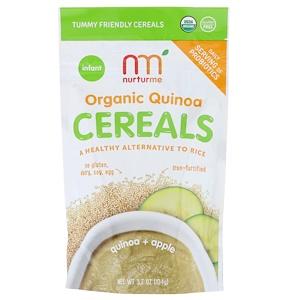 НутурМе, Organic Quinoa Cereal, Quinoa + Apple, Infant, 3.7 oz (104 g) отзывы