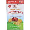 NurturMe, Yum-A-Roo's, Organic Veggie + Fruit Snacks, Pea, Sweet Corn, Apple, 1 oz (28 g)