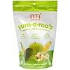 NurturMe, Orgánico, Bocados para Niños Pequeños, Yum-A-Roo's, Plátano + Manzana + Brócoli, 1 oz (28 g)