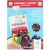 NurturMe, Organic Yogurt Alternative, Purple Carrot + Banana + Berry, 4 Pouches, 3.5 oz (99 g) Each