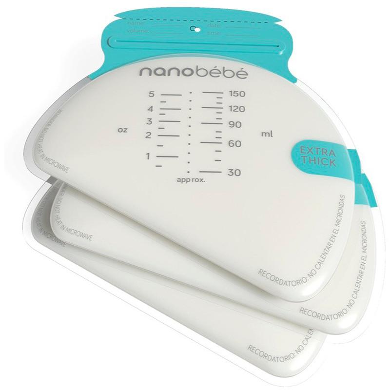 Breastmilk Storage Bags, 50 Pre-Sterilized Bags, 5 oz (150 ml) Each