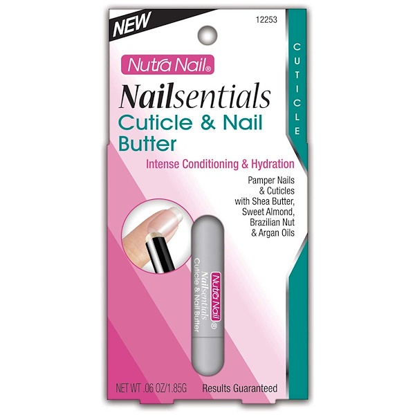 Nutra Nail, Nailsentials, Cuticle & Nail Butter, .06 oz (1.85 g) (Discontinued Item)