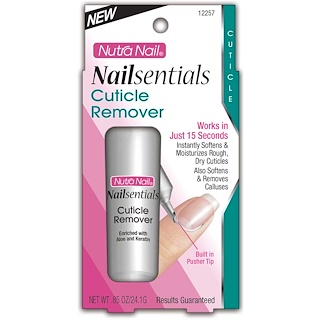 Nutra Nail, Nailsentials, Cuticle Remover, .85 oz (24.1 g)