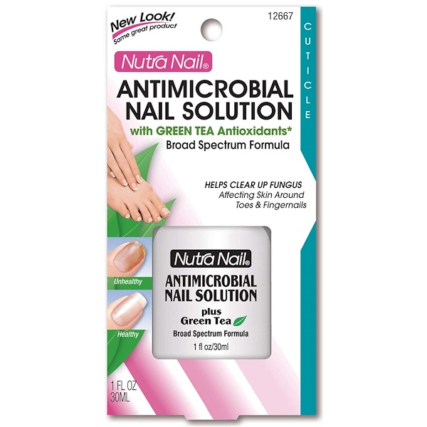 Nutra Nail, Antimicrobial Nail Solution, 1 fl oz (30 ml) (Discontinued Item)